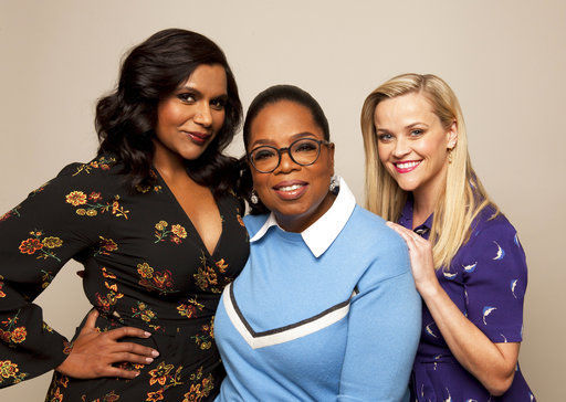 Q&A: Oprah plays life coach to 'Wrinkle in Time' co-stars -- 1