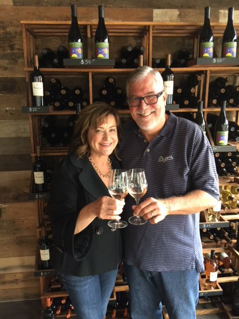 Louisa and Bob Lindquist, of Verdad and Qupe wines