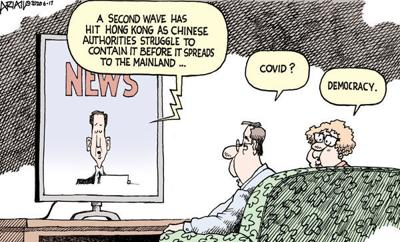 Editorial Cartoon: China