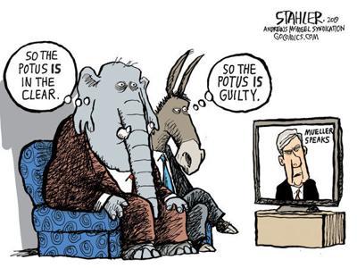 Cartoon: Mueller perspective