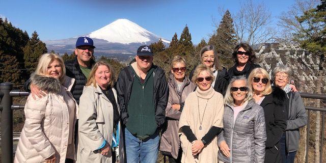Linda Johansen trip to Japan 1
