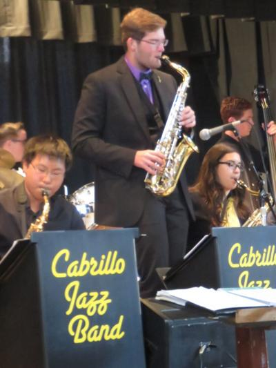 Cabrillo jazz band students (copy)