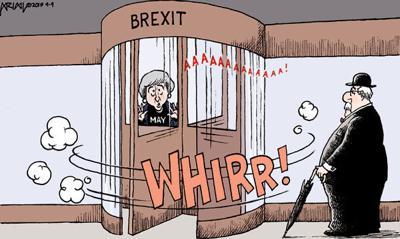 Cartoon: No-exit Brexit