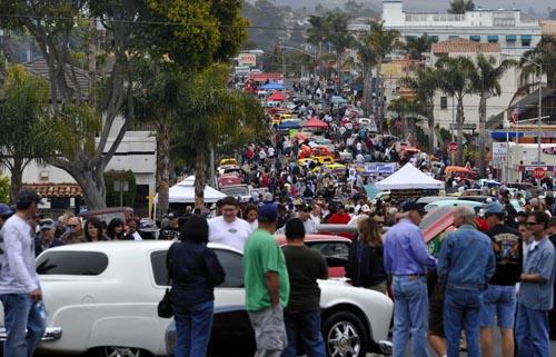 Powerhouse Car Show Cruising Into Pismo Beach Local News - Classic car show pismo beach
