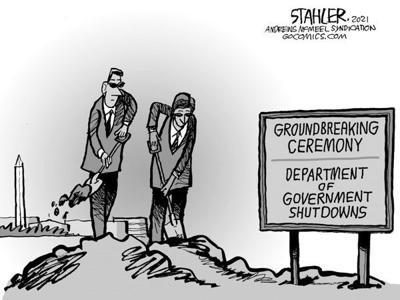 Editorial Cartoon: Shutdown