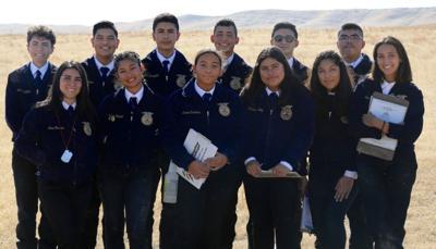 Pioneer Valley High School Future Farmers of America.