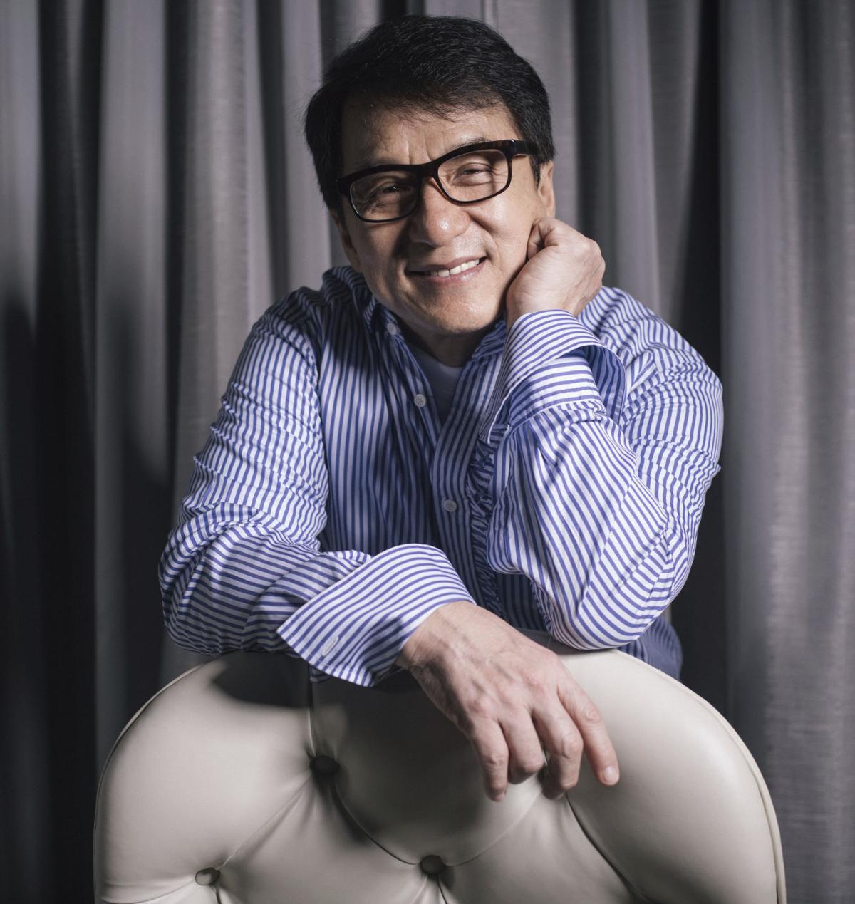 Jackie Chan Portrait Session -- 2