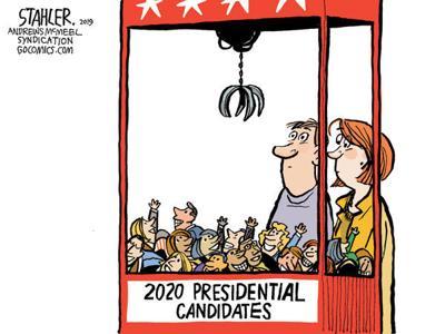 Cartoon: Grab a candidate