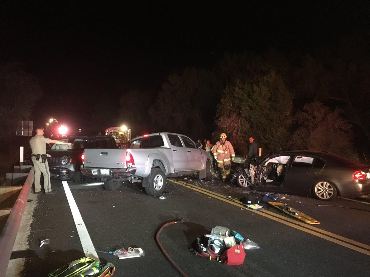 Highway 154 crash