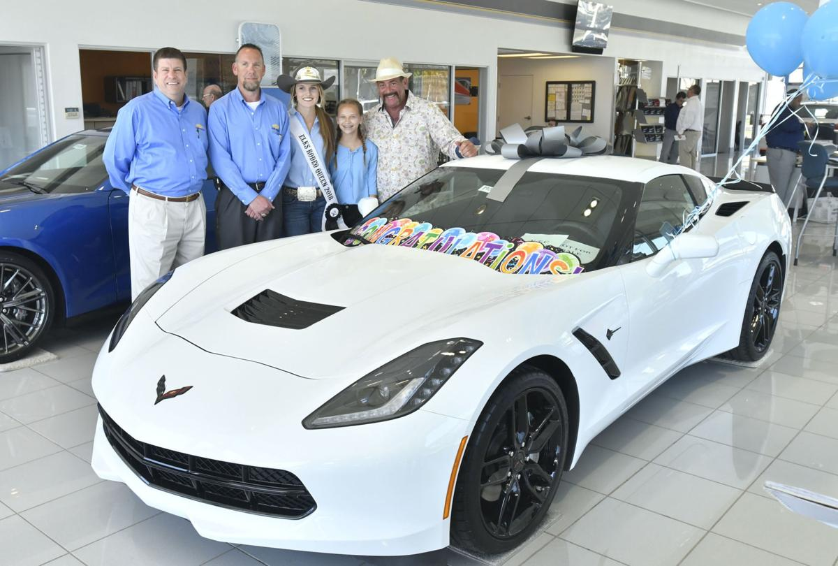 Paso Robles man buys Corvette-winning raffle ticket while waiting