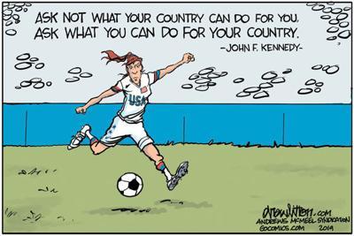 Cartoon: Ask not ...