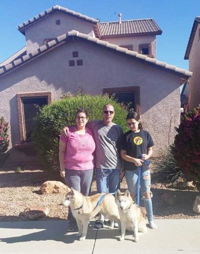 Pets of Lompoc homicide victim reunited with victim's family in Texas