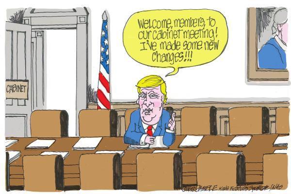 Cartoon: Cabinet meeting