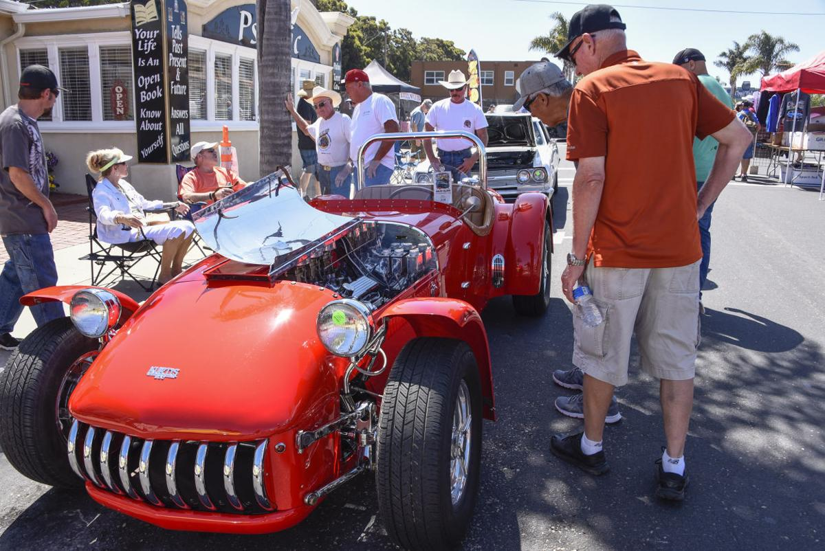 Families Celebrate Fathers Day At Pismo Beach Car Show Local News - Pismo beach car show