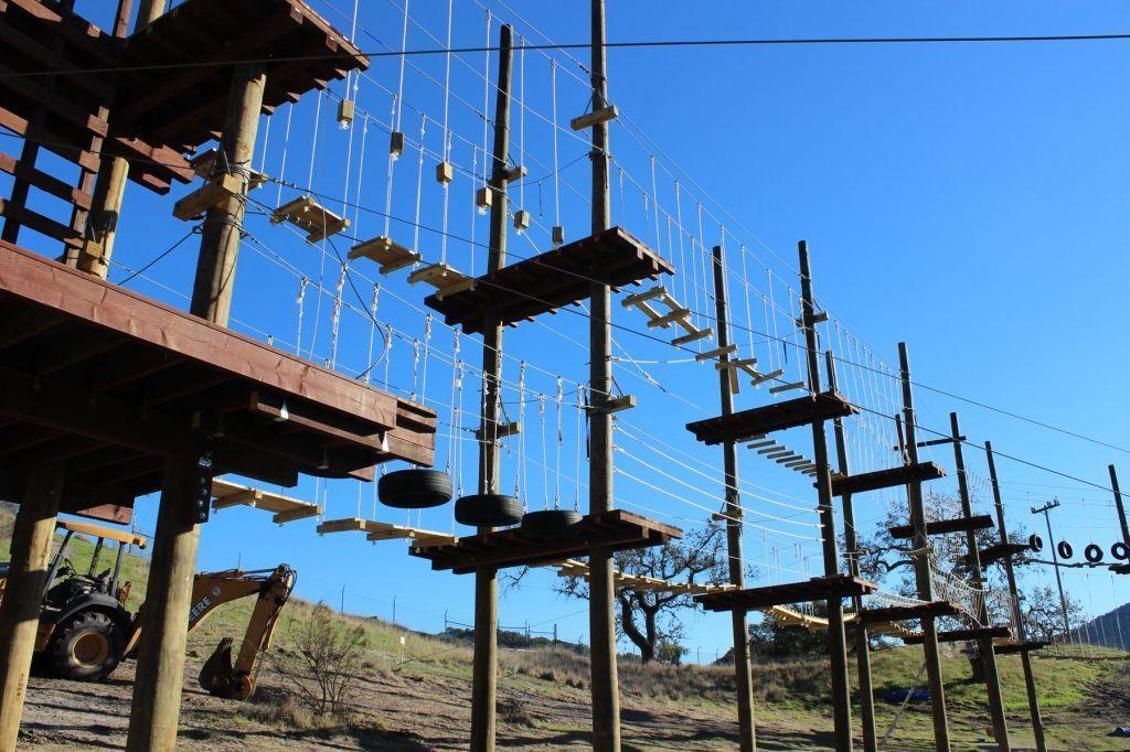 Vista Lago aerial challenge