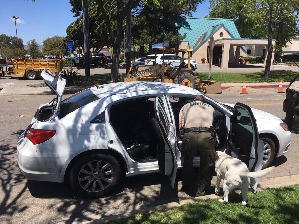 Car searched after juveniles burglary arrest
