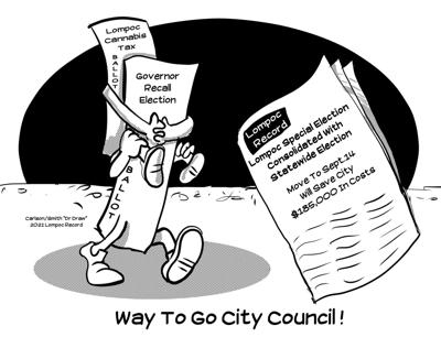 Editorial Cartoon: Piggyback