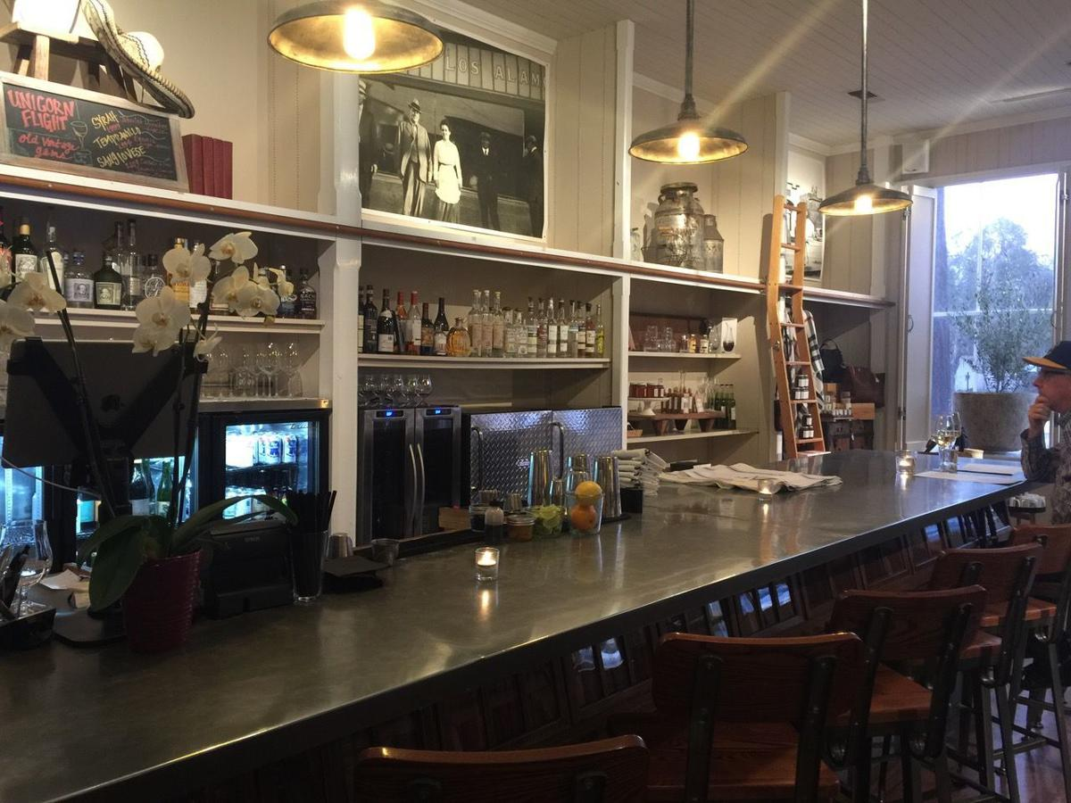 The new wine tasting bar in Pico at the Los Alamos General Store