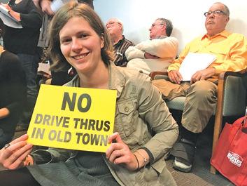 No drive-thrus