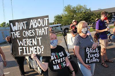 Women for Progress march in Bay St. Louis