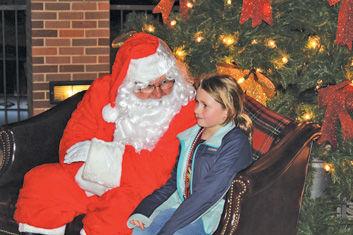 Santa in Waveland