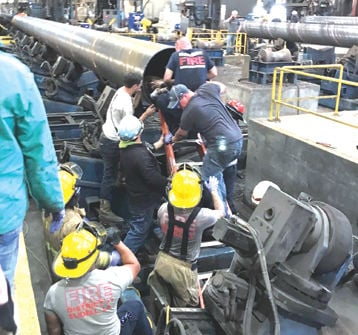Man trapped in pipe at Port Bienville | News | seacoastecho com