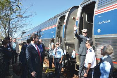 Amtrak visit