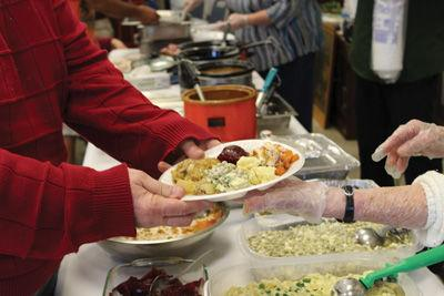 GIVING BACK: Locals spend their Thanksgiving holiday serving others
