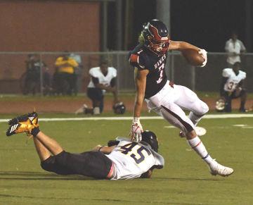 Hawks touchdown