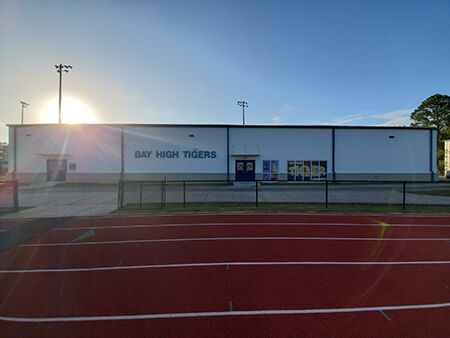 Outside View of Field House