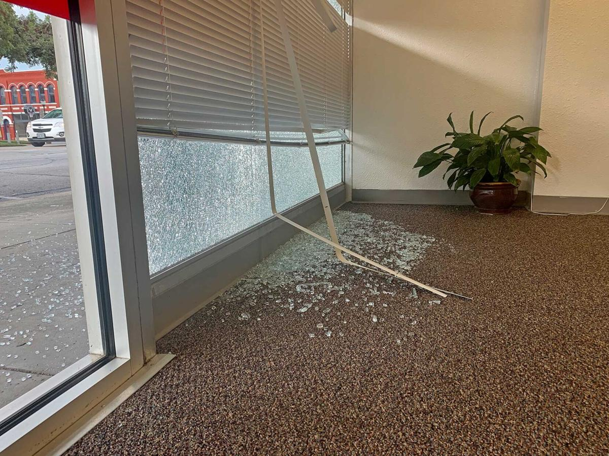 Window smashing