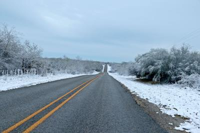South Texas Snow Day
