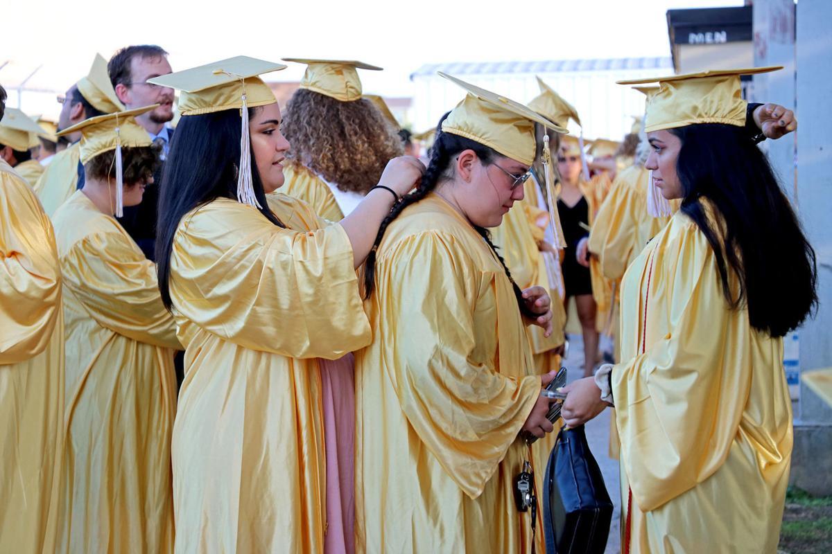 Seguin High School graduation 2019