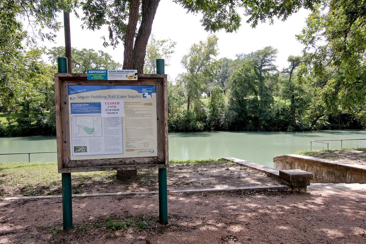 Lake Seguin closed