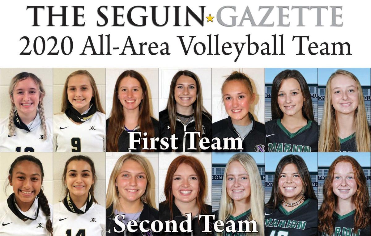 2020 All-All Area Volleyball