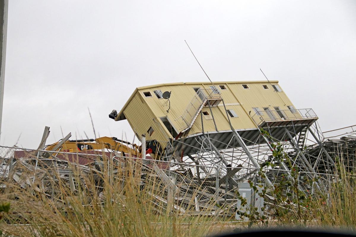 Matador Stadium demolition