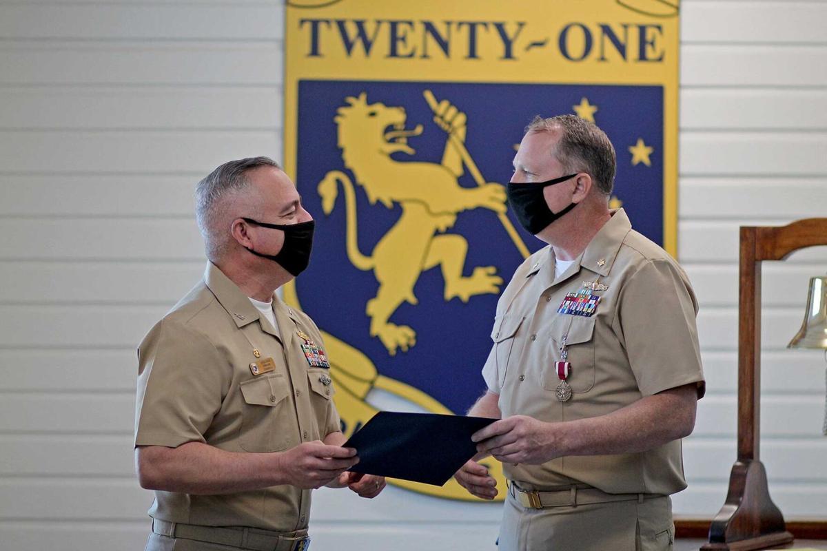 Lieutenant Commander Jason Siltmann Retirement