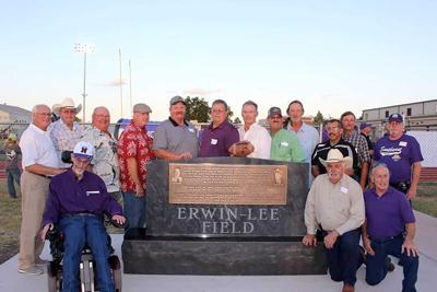 Erwin-Lee Field dedication