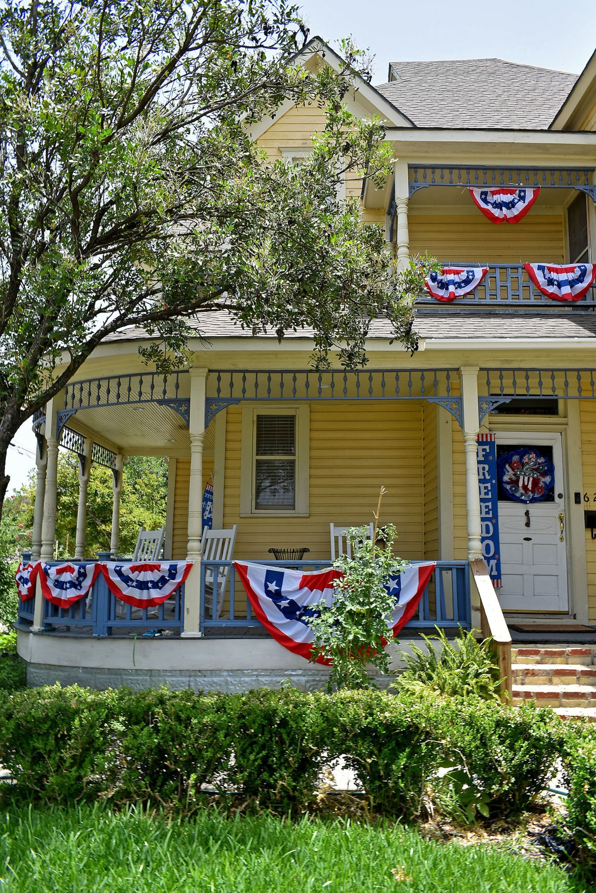 Fourth of July Themed Homes