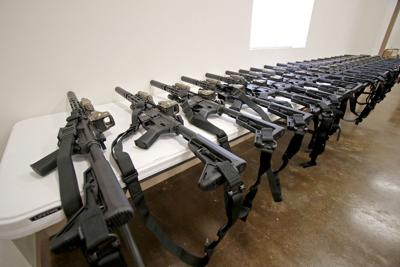 GCSO guns