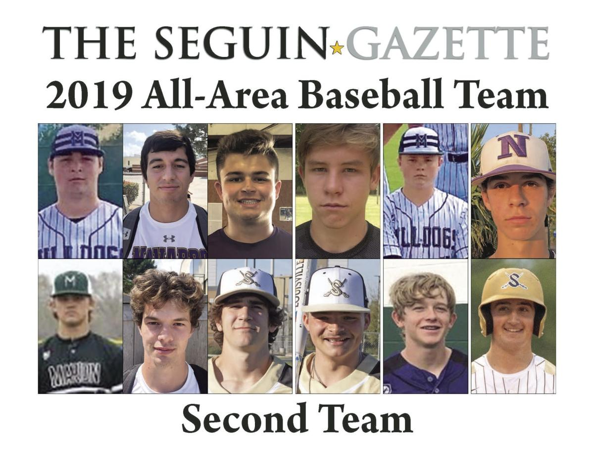 All-Area Baseball Second Team