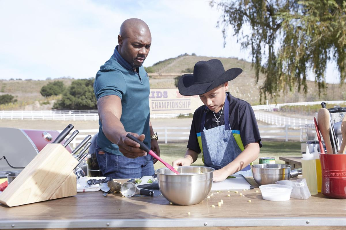 13-year-old competes on Food Network show