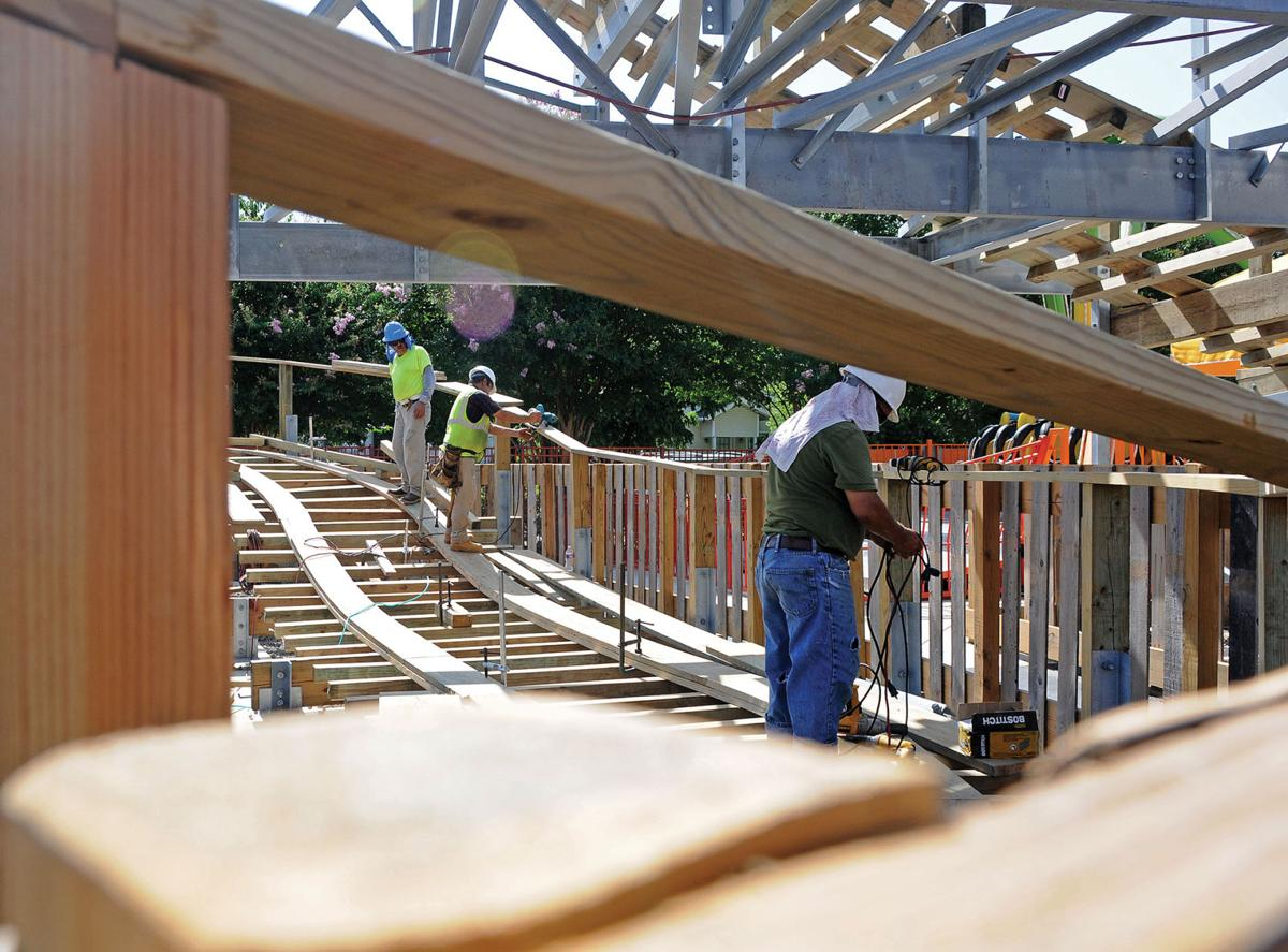 ZDT's new wooden roller coaster to set world record ...