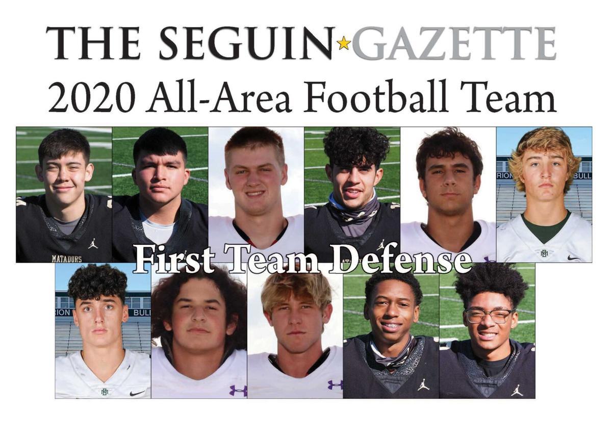 2020 All-Area Football First Team Defense
