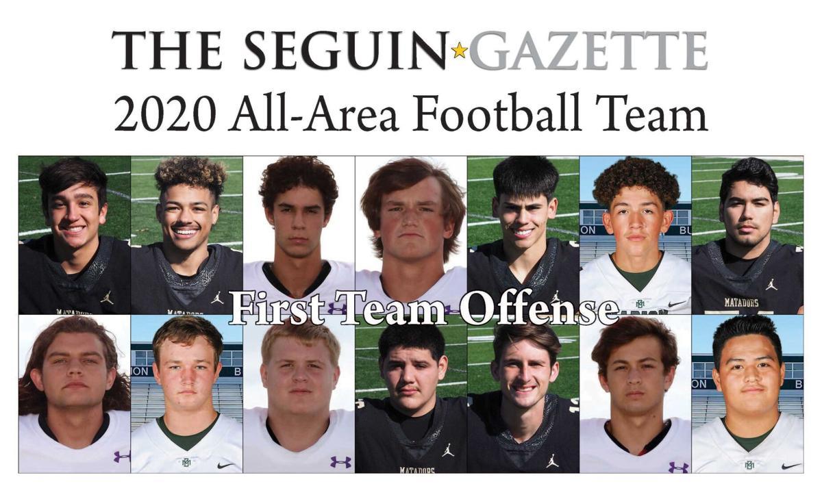 2020 All-Area Football First Team Offense