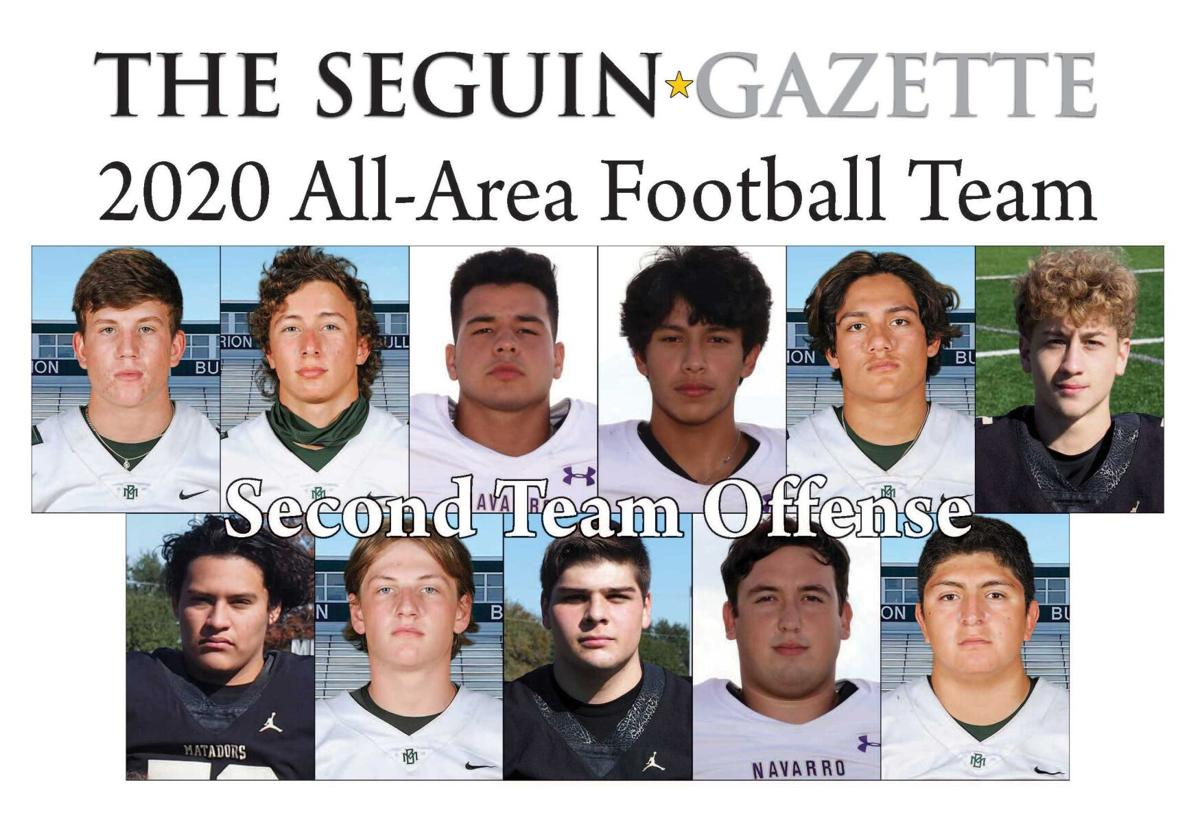2020 All-Area Football Second Team Offense