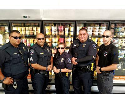 Ice cream guard duty