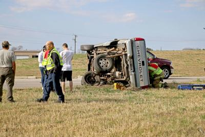 letters to the editor collision causes truck to roll no injuries reported 1473