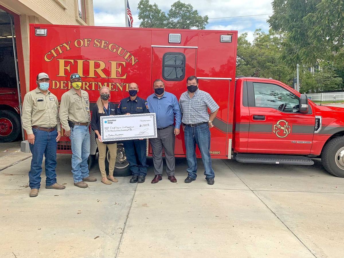 Seguin Fire Department grant