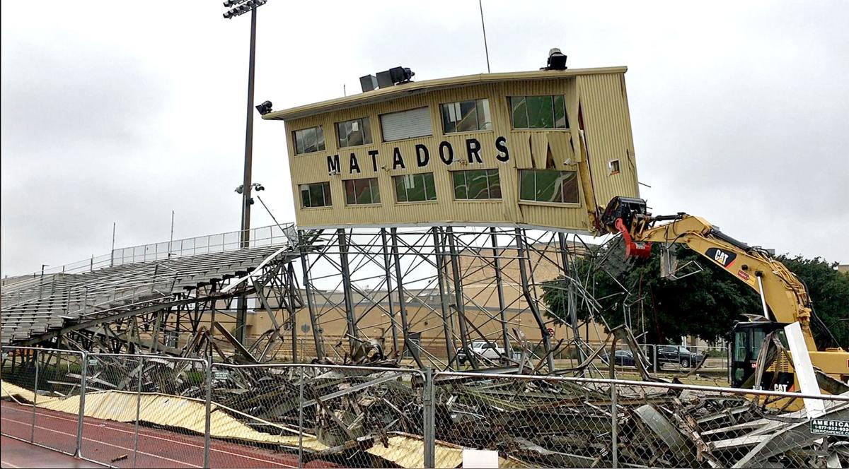 Matador Stadium demolition